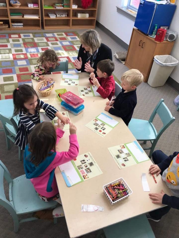 Sunday School kindergarten 2019